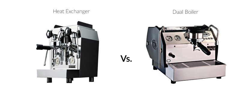 Heat Exchanger vs Dual Boiler Coffee Machines